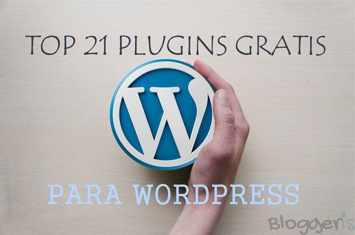 Top plugins gratis para WordPress