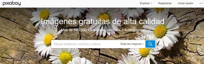 Banco de imágenes pixabay