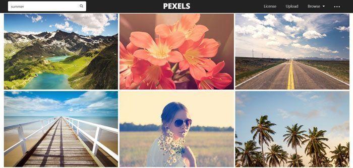 bancos de imágenes gratis pexels