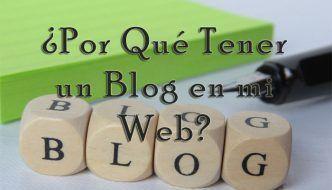 Tener una web con un blog