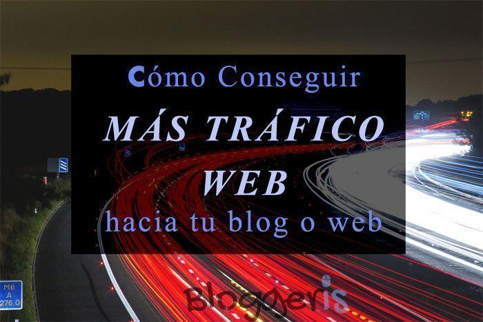 conseguir tráfico web