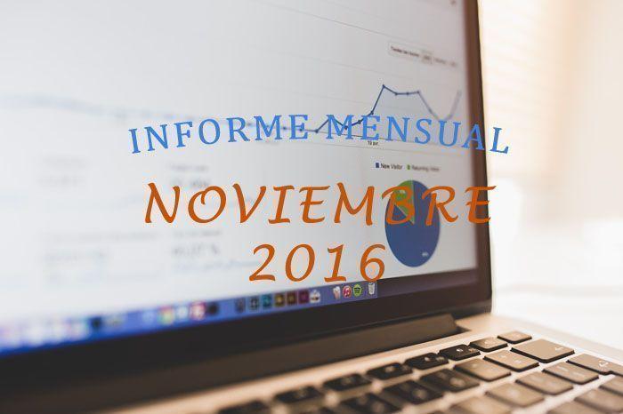 informe mensual noviembre 2016
