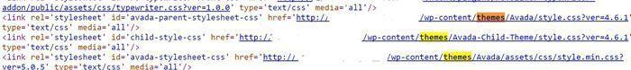 saber el tema de una web