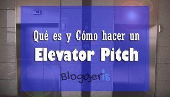 cómo hacer un elevator pitch