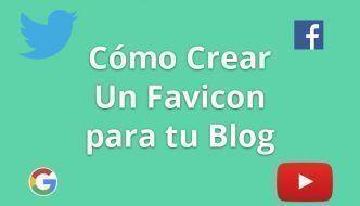 Como crear un favicon para tu blog o web