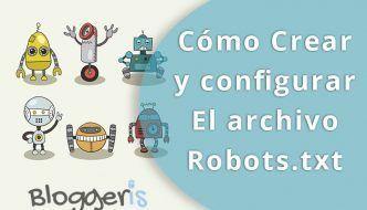 archivo robots txt
