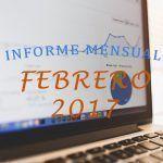 Seguimos creciendo | Informe mensual de Febrero