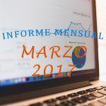 ¡Barrera de las 6000 visitas superada! Informe Mensual Marzo 2017