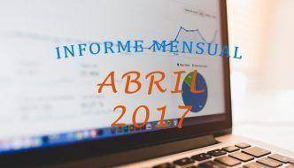 Bajón en tráfico social – Informe Mensual Abril 2017