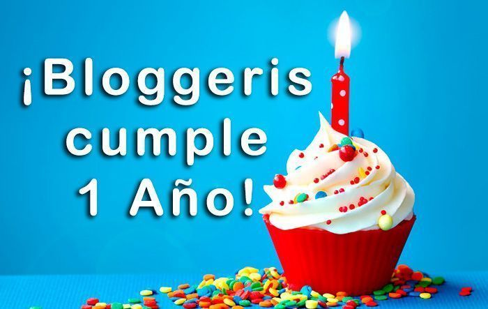 Primer año bloggeris
