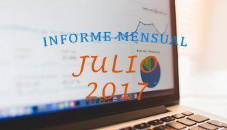 ¡A un paso de las 10 000 visitas! – Informe Mensual Julio 2017