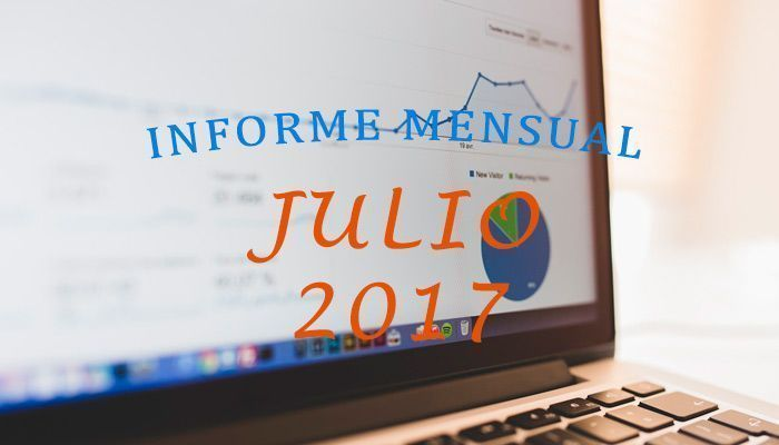Informe mensual Julio 2017
