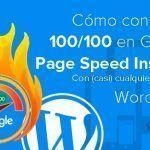 Cómo conseguir un 100/100 en Google PageSpeed Insights con (casi) cualquier theme de WordPress