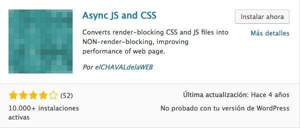 plugin async js css google insights
