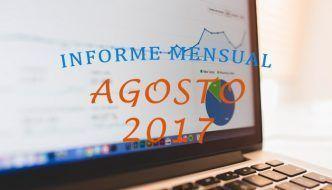 ¡Superando las 10.000 visitas! – Informe Mensual Agosto 2017