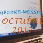 Duplicando visitas en 2 meses – Informe Mensual Octubre 2017