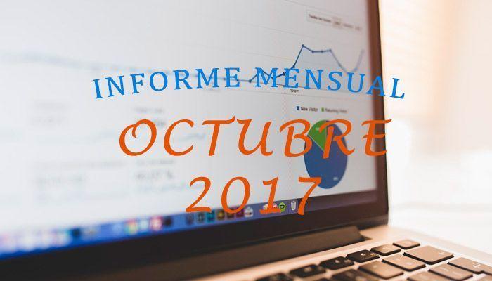 informe mensual de Bloggeris en Octubre de 2017