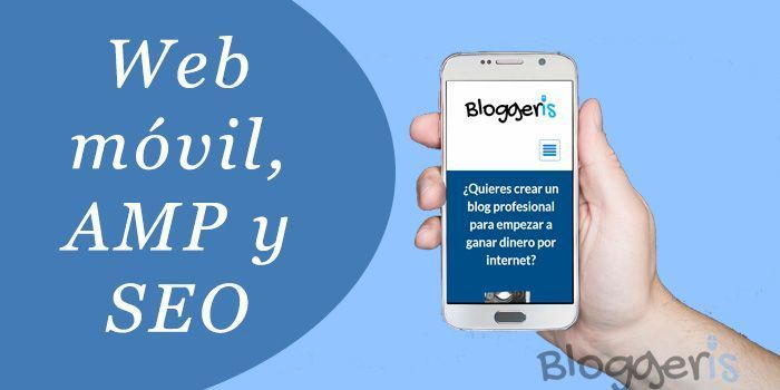 Web AMP SEO y móvil