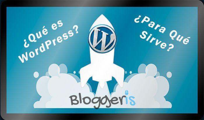 qué es wordpress y para qué sirve CMS