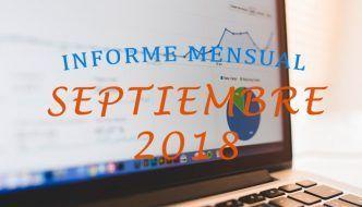 informe mensual septiembre 2018