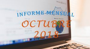 informe mensual bloggeris octubre 2018