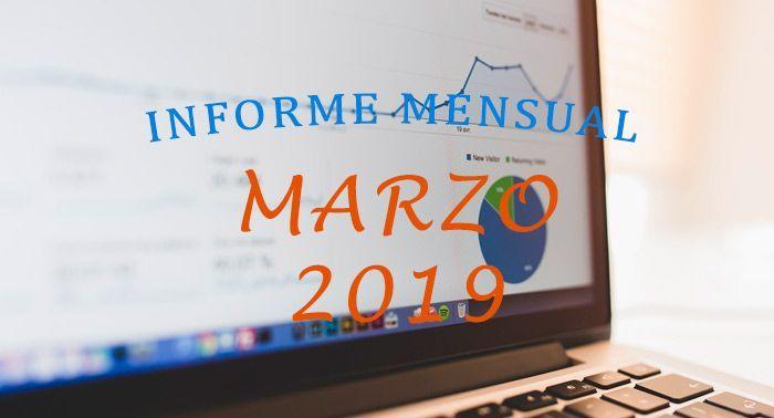 informe mensual marzo 2019